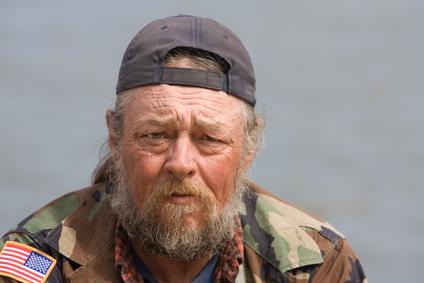 Homeless Old Man